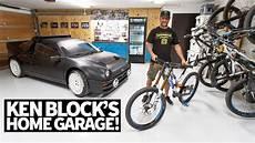 kans garage ken block s ultimate home garage downhill mountain bikes