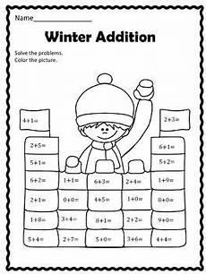 winter activities worksheets for preschoolers 19952 free winter addition grade math homeschool math math addition
