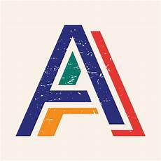 letter a typography free vectors clipart