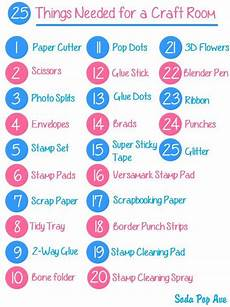 top 25 things needed for a craft room pictures of sodas
