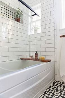 makeover of the guest bathroom in a cool style