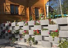 Bac A Fleurs Exterieur Beton