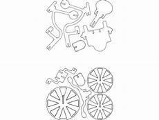 triciclo 3d puzzle dxf file free download 3axis co