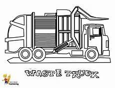grimy garbage truck coloring page free construction