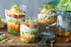 bunter salat im glas rezepte salat im glas vorspeisen