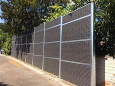 Mur Anti Bruit Station Service En Gironde Le Bouscat