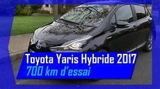 Essai Toyota Yaris Hybride Chic 2017 Sur 700 Km Hybrid