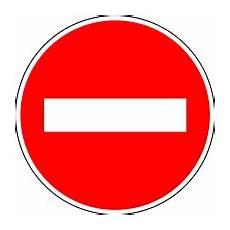 sens interdit panneau panneau de signalisation de sens interdit en wikip 233 dia