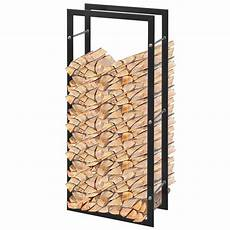 Vidaxl Firewood Rack Rectangular 100 Cm Log Wood Cart