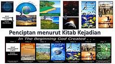 Gambar Proses Penciptaan Menurut Kejadian 1 Dan 2