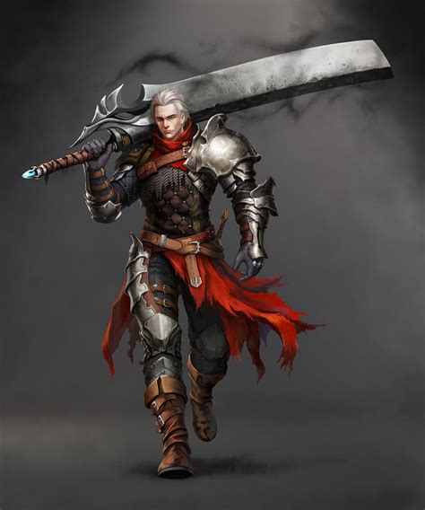 Male Knight Art