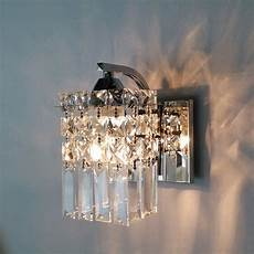 crystal wall sconce modern wall light indoor decorative