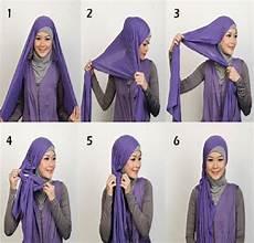 Tutorial Dan Cara Memakai Mengenakan Jilbab