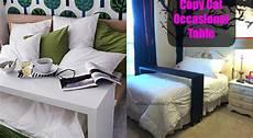 Fabriquer Une Console De Lit Comme Celle De Chez Ikea