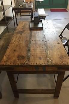 Vintage Esstisch Aus Holz Klappbar Shabby Chic Handmade