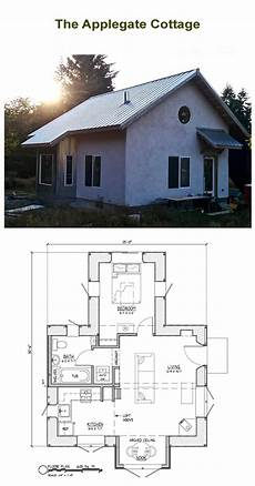 free straw bale house plans applegate straw bale cottage plans strawbale com