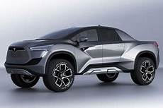 concept art imagines tesla s new futuristic pickup truck