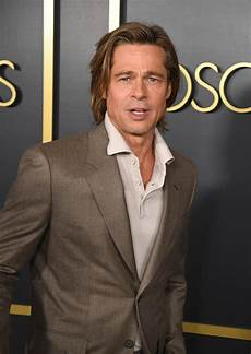 brad pitt absent brad pitt still charms during another win at 2020