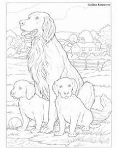 Ausmalbilder Hunde Golden Retriever Golden Retriever Easy Coloring Pages