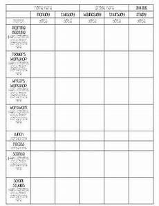 plank plan editable lesson plan template free class organization