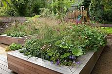 Garten Mit Hochbeeten Gestalten - gartengestaltung mit hochbeet