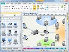 physical network diagram software free exles and