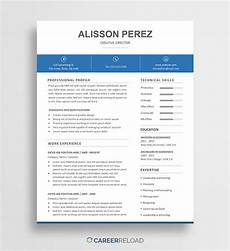 download free resume templates free resources for