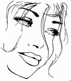 Malvorlagen Easy Schoen Frauengesicht Ausmalbild Malvorlage Menschen