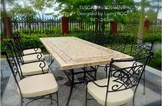 table mosa 239 que en toscane de jardin en fer forg 233