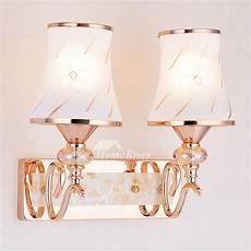 modern wall sconces 2 light hardware glass pull chain decorative