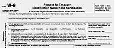 form w 9 community tax