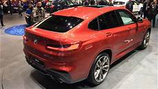 2018 Bmw X4 M40d World Premiere Walkaround At Geneva Motor