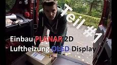 standheizung planar air 2d luftheizung einbau teil 1
