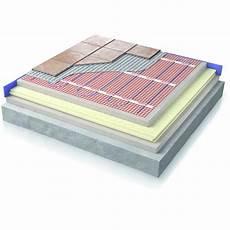 plancher chauffant electrique plancher chauffant 233 lectrique mat warmup
