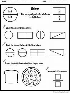 fraction worksheets level 1 4001 fraction worksheets and activities for grade 1 and 2 by elementarystudies