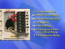 thermostat installation 4 quot blue series youtube