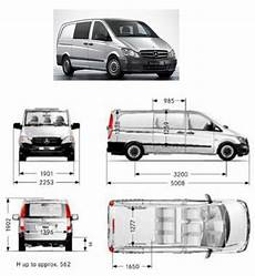 hauteur mercedes vito pin on drawings