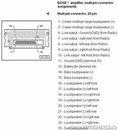 Harness Bose Schaltplan F 252 R Audi A8 Bj 2000 Audi A8