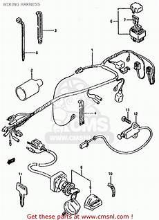 suzuki lt80 1991 m general united kingdom e01 e02 wiring harness buy original wiring
