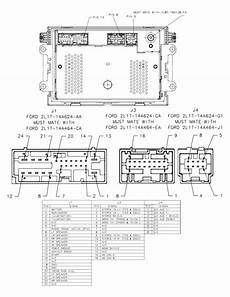 1994 ford radio wiring diagram 2001 ford mustang radio wiring diagram wiring diagram and schematic diagram images
