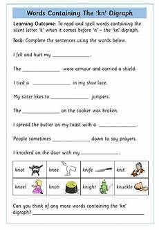 silent letter g worksheets 24641 silent k followed by n kn worksheet by krazikas teaching resources tes