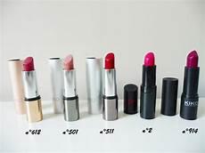 five lipsticks for winter la palatine