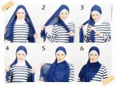 Tutorial Cara Memakai Jilbab Untuk Wajah Bulat
