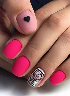70 easy valentine s day nail art ideas 2019