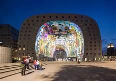 Bildergalerie Zu Mega Markthalle In Rotterdam Er 246 Ffnet