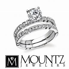 fit wedding band for engagement ring mountz jewelers
