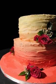 Kayb S Cakes Ombre Wedding Cake Tutorial