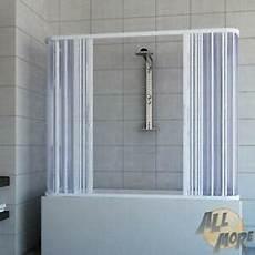 cabine de 3 parois cabine de pare baignoire 3 parois enpvc 70x160 cm 2