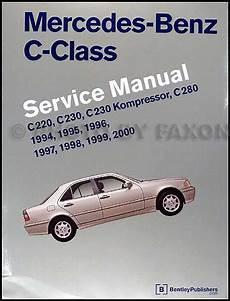 where to buy car manuals 2000 mercedes benz clk class interior lighting 1994 2000 mercedes benz c class bentley repair shop manual