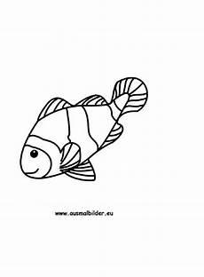 ausmalbild fisch zum ausdrucken